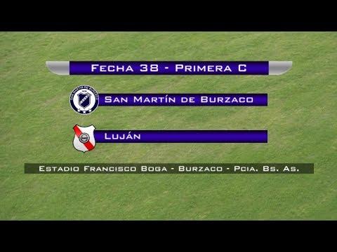 Fecha 38: San Martín de Burzaco vs Luján - EN VIVO
