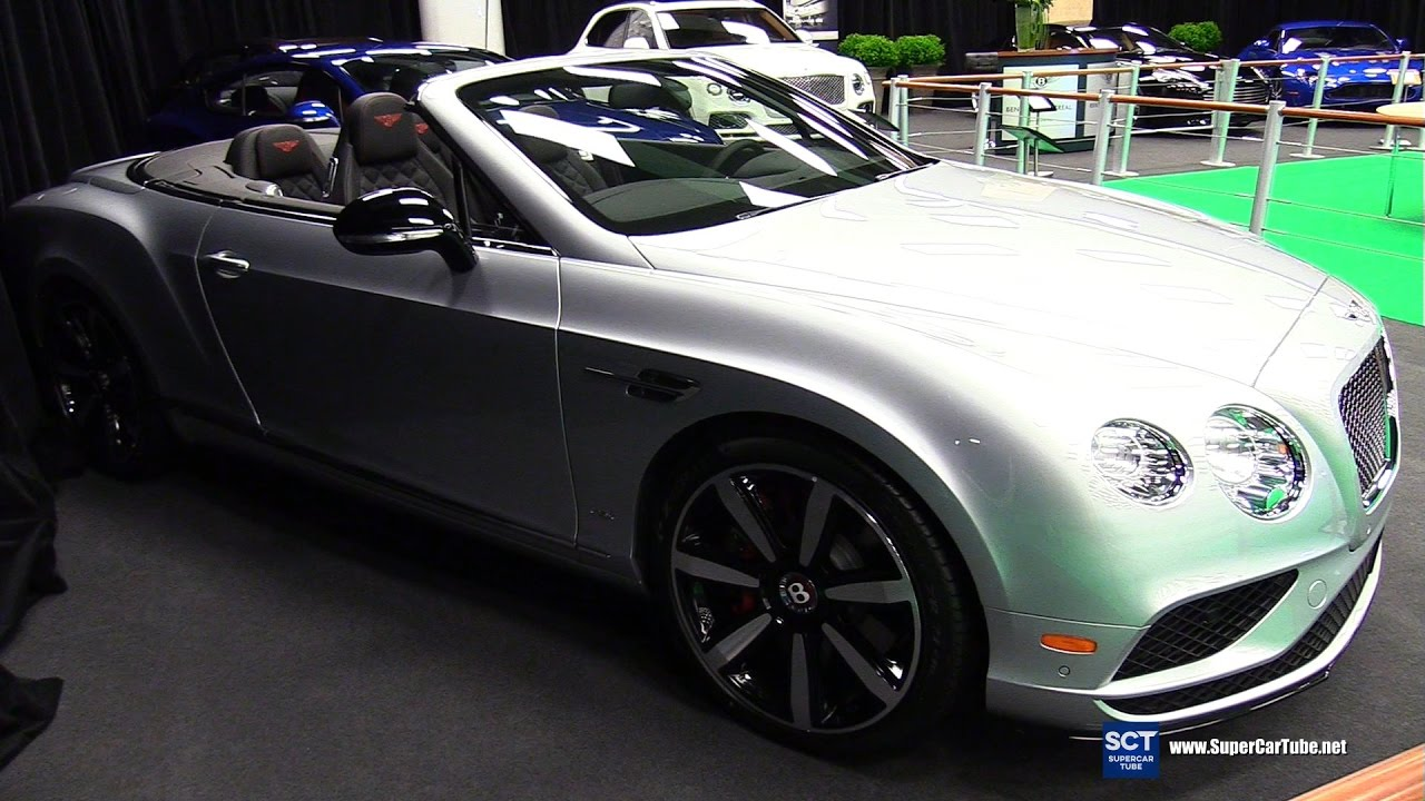 2017 bentley continental gt v8 s exterior and interior Bentley continental gt 2017 interior