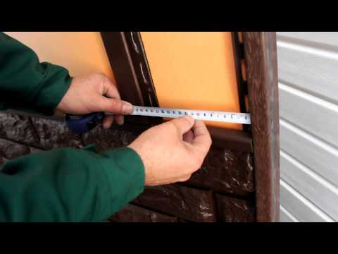 Инструкция по монтажу фасадных панелей и цокольного сайдинга ДОЛОМИТ