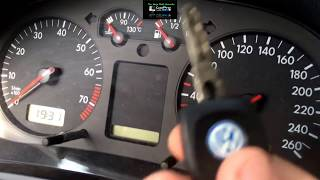 VW Golf 4 Service reminder - VW Golf 4 computer reset - VW Golf MK4 INSP Reset - VW GOLF 4