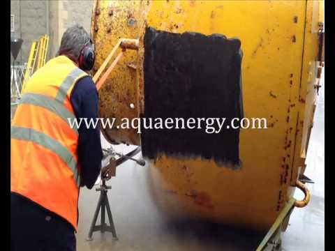 Marker Buoy Marine Growth & Paint Removal