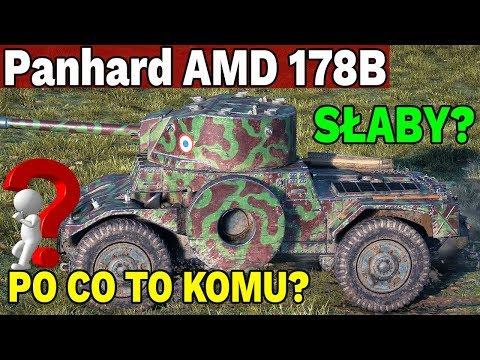 KOŁOWY SZROT? - Panhard AMD 178B - World of Tanks thumbnail