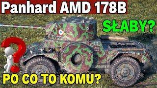 KOŁOWY SZROT? - Panhard AMD 178B - World of Tanks