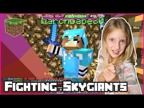 Minecraft Skygiants / Last Fight for Survival