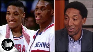 Scottie Pippen says first NBA All-Star weekend ruined him for rest of that season | The Jump
