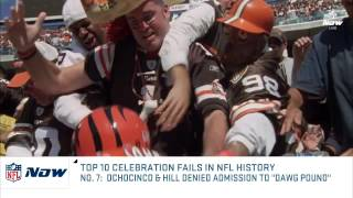 NFL top 10 Celebration Fails in history