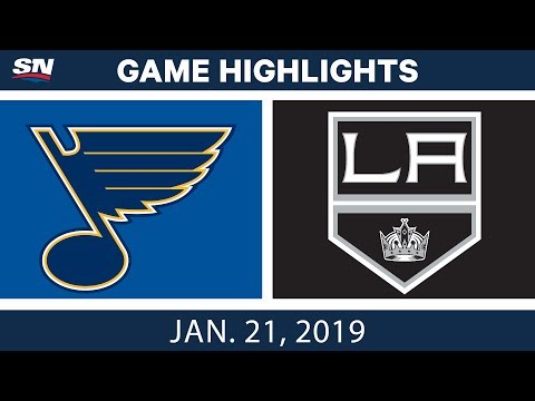 NHL Highlights | Blues vs. Kings - Jan. 21, 2019