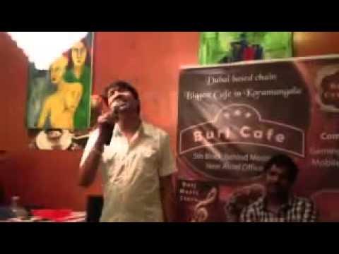Male singer singing Hindi duet alone