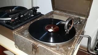 GION - NIURA - tango din 1932 la patefon His Masters Voice