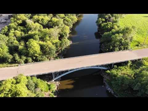 Flying Split Rock Creek  #Garretson, #DJI , #splitrockcreek