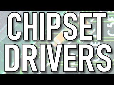 Are You Using The Latest Chipset Drivers?  How