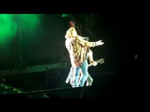 "Guns N Roses ""Welcome To The Jungle"" Not In This Lifetime Tour DC"