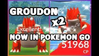 GROUDON RAID IS HERE IN POKEMON GO | HOW TO BEAT & CATCH GROUDON IN POKEMON GO
