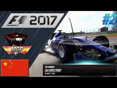 CAMPEONATO @MGPF12017 CHINA | F1 2017 ONLINE