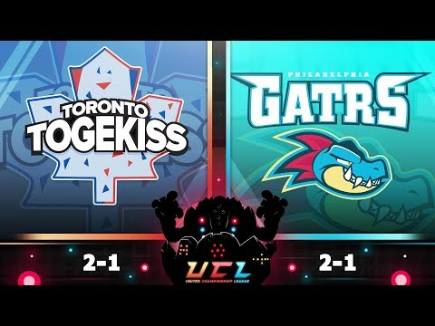Pokémon USUM LIVE Wi-Fi Battle [UCL S3W4] Toronto Togekiss vs Philadelphia Feraligatrs