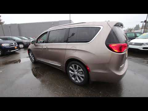 2018 Chrysler Pacifica Limited | Molten Silver | JR130968 | Redmond | Seattle