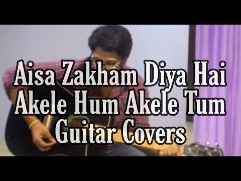 Aisa zakham Diya Hai Guitar chords - YouTube