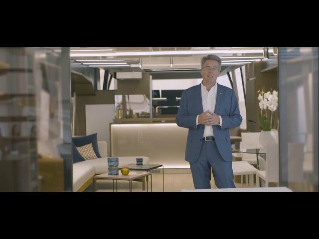 X70: Presentation by Erik Stromberg  | PRESTIGE Yachts