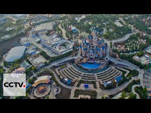 Staff and their families ready for fun in Shanghai Disney Resort