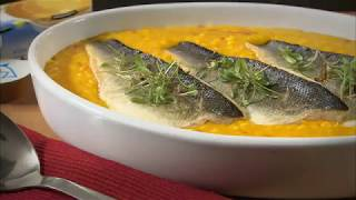 Marco Pierre White recipe for Saffron Risotto with Sea Bass