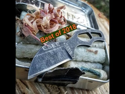 Best New Production Knife of 2018- Esee Gibson Pinch