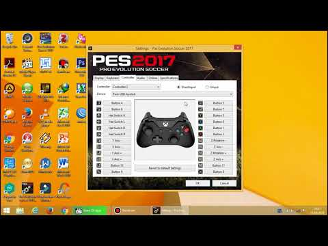 TUTORIAL SETTING STICK (CONTROLLER) PES 2017 DI PC/LAPTOP
