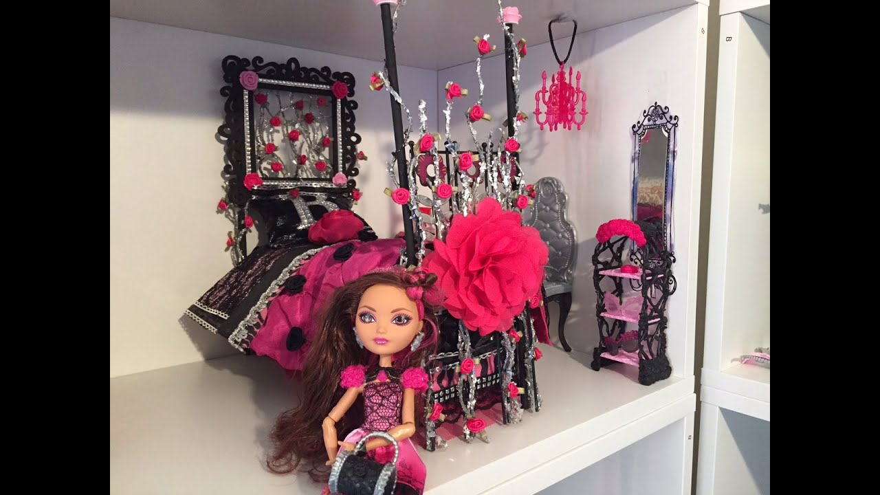 BRIAR BEAUTY DOLL BED REMAKE [EVER AFTER HIGH] - YouTube