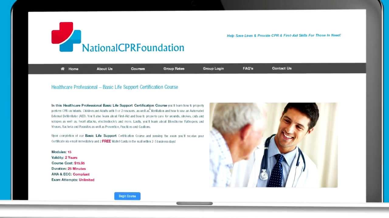 Online cpr and first aid certification youtube online cpr and first aid certification xflitez Images