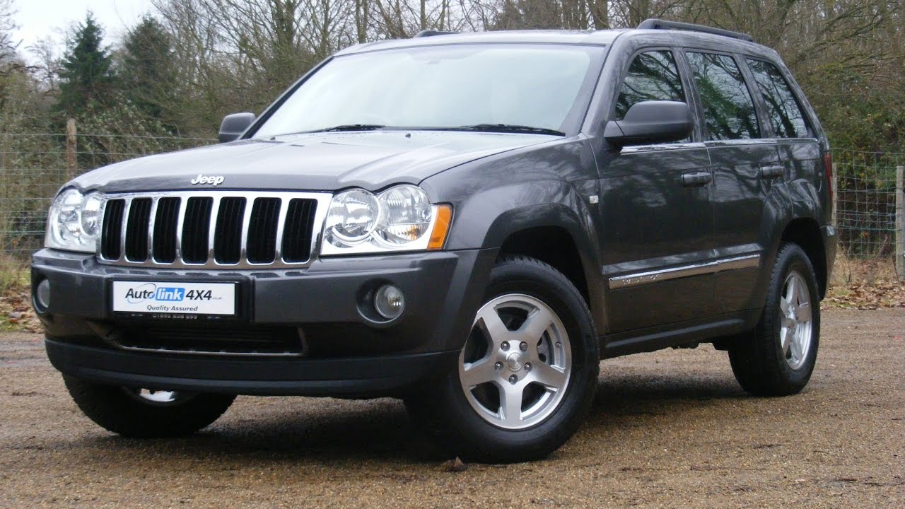 2006 jeep grand cherokee 3 0 crd v6 limited auto for sale in tonbridge kent youtube. Black Bedroom Furniture Sets. Home Design Ideas