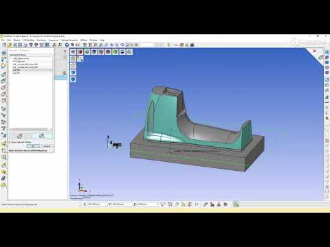 5-Axis parallel finishing - 1 | WORKNC 2022