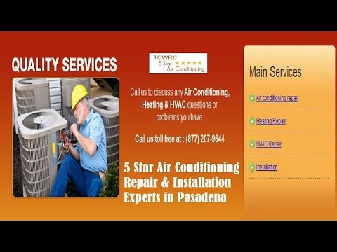Air Conditioning Pasadena (877) 273-6553 | AC | AC Repair Pasadena, CA
