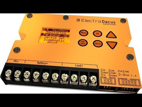 Open Source Programmable Solar BMS presentation video.
