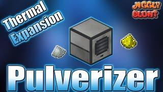 Pulverizer (Thermal Expansion) | Minecraft Mod Tutorial