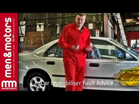 Car Immobiliser Fault Advice