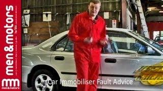 Car Immobiliser Fault Advice