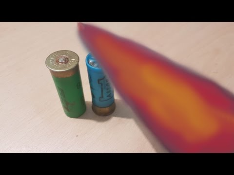 Thumbnail: EXPERIMENT Glowing 1000 Degree Knife Vs Bullets