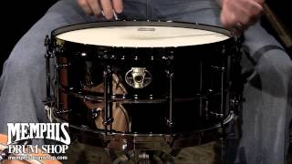 Ludwig 14 x 6.5 Black Magic Brass Snare Drum