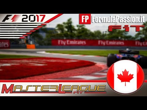 Master League FormulaPassion.it F1 2017 #07 GP Canada Montreal 28.11.17 - Live Streaming 1080p