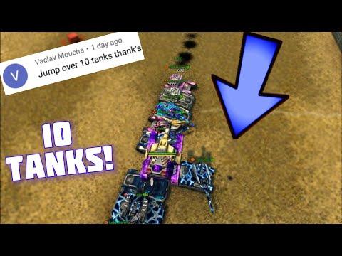 Jump Over 10 Tanks?! Challenges Video #59 - Tanki Online!