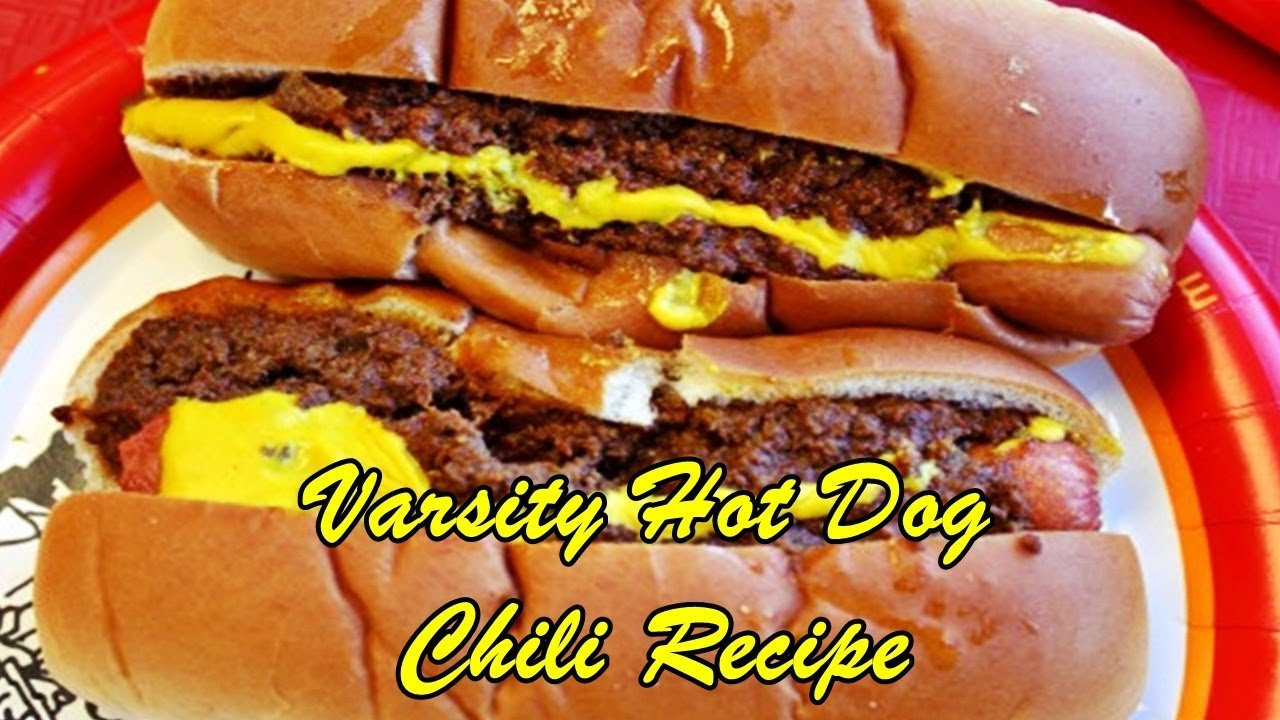 The Varsity Hot Dog Chili Recipe