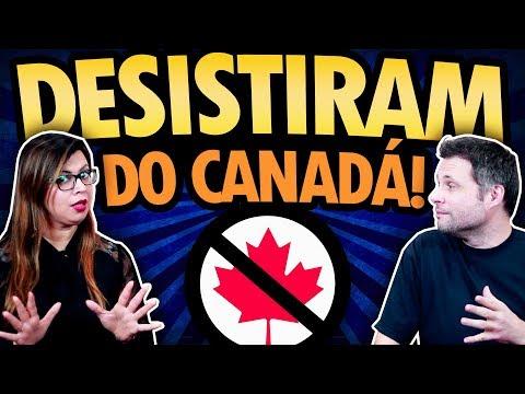 PORQUE PESSOAS DESISTEM DO CANADÁ?