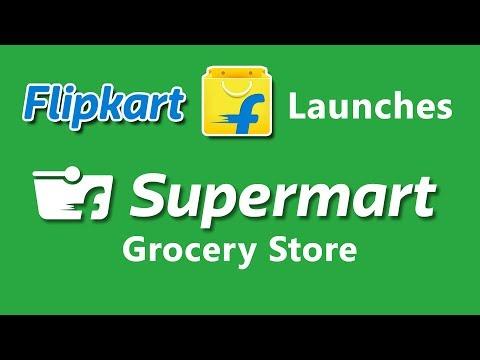 Flipkart Launches New Online Grocery Store Flipkart Supermart