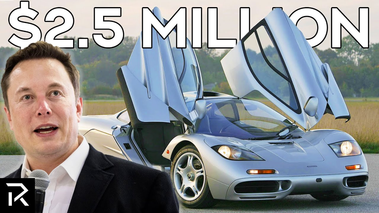Inside Elon Musk's Crazy Expensive Car Collection