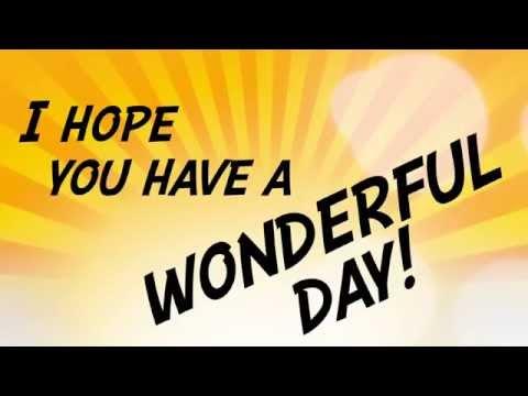 "Derrick Horne ""Wonderful Day"" Lyric Video"