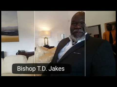 Bishop T.D. Jakes on Zimbabwe visit