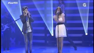 Merche & Salvador Beltrán - Por Si Vienes (Directo en Luar) 22-11-2013