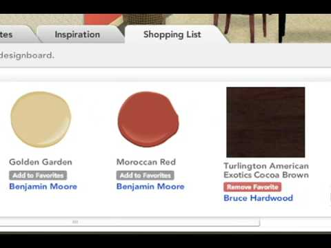 Design Board - Interactive Room Makeover - DesignMyRoom