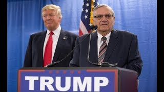 Trump is 'strongly considering' pardoning Sheriff Joe Arpaio thumbnail