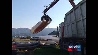 San Giovanni: Sequestrati 34 natanti abbandonati