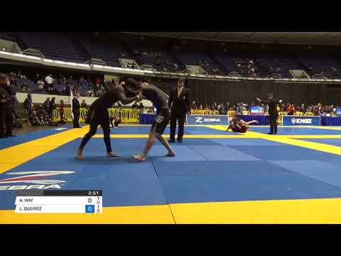 Tony Way jiu jitsu Nogi Worlds round 1